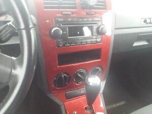 2008 Dodge Caliber silver and red inside Hatchback