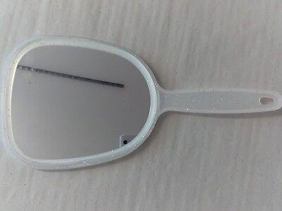 1 Stück Handspiegel Spiegel Handgriff ca. 27cm mit Aufhängung