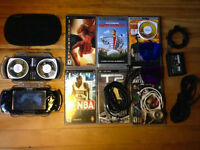 PSP + 6 Games + 4 Movies +++