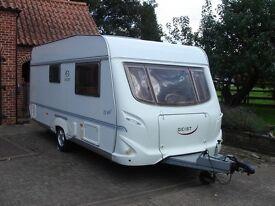 Geist LV485 2 Berth Caravan. 2004 model.
