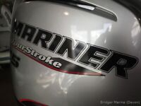 New mariner 75hp outboard engine