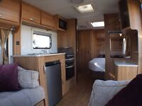 2011 LUNAR DONNINGTON 4 BERTH TOURING CARAVAN - RECENT SERVICE, FULL HISTORY