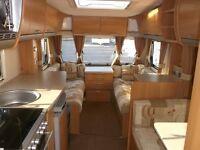 2010 Swift Charisma 560 4 Berth Caravan End Bathroom.