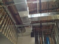 Duct fitters looking for a job in London. DuctWork