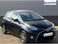 2015 Toyota Yaris VVT-I ICON Petrol black Manual