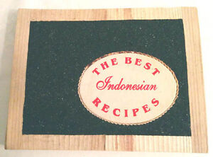 Indonesian Cookbook Handmade (Pierrefonds) West Island Greater Montréal image 1