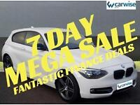 2013 BMW 1 Series 116D SPORT Diesel white Manual