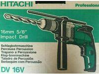 Hitachi Impact Hammer Drill DV 16V.