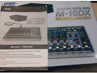 Roland M-16 DX Mixer, Studio Mixer, Roland Audio Interface