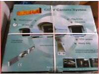 Brand new infrared CCTV camera system boxed