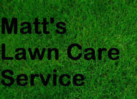 Matt's Lawn Care - Accepting Clients in North Waterloo for 2017