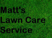 Matt's Lawn Care - Accepting Clients in Waterloo for 2017