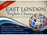 FREE English Classes in East London