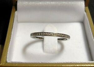 14kt White Gold - approx .30tcw Diamond Eternity/Wedding Band