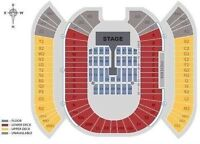 **TWO FLOOR TICKETS TO ONE DIRECTION
