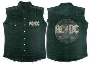 AC-DC-039-Rock-Or-Bust-039-Camisa-De-Trabajo-Nuevo-amp-Oficial