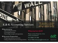 AAT qualified Independent Bookkeeping