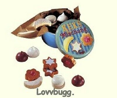 "Lovvbugg Cookies n Candy Mini for 18"" American Girl Doll Food Accessory"