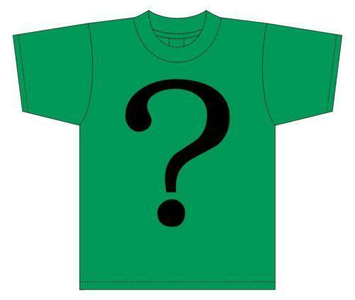 Riddler shirt ebay for Riddler t shirt with bats