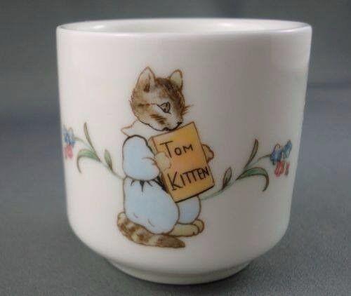 Beatrix Potter Tom Kitten egg cup £5