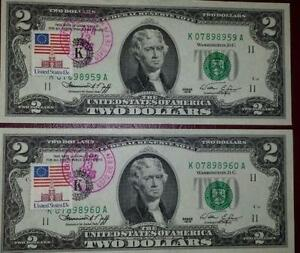1976 2 Dollar Bill First Day Issue