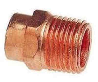Plumbing Copper Sweat X Male Npt Adapter 1-14 14