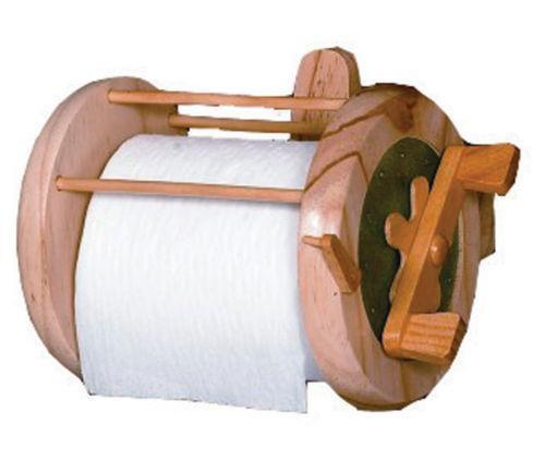 Wood toilet paper holder ebay Wood toilet paper holders