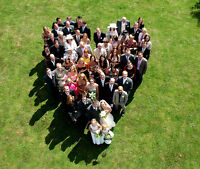 Professional Wedding Photography with Aerial