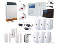 Burglar Alarm, Wireless Alarm, GSM / PSTN Touch Panel - Professional KT