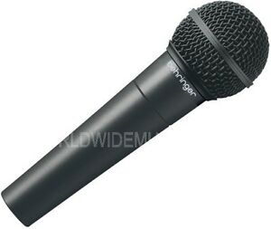 Behringer Ultravoice XM8500 Dynamic Cardioid Vocal Microphone - NEW