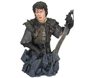LOTR-Frodo-Baggins-Orc-Armor-mini-bust-statue-Lord-of-the-Rings-Hobbit-Tolkien