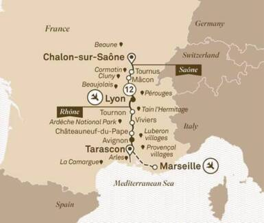 13 Day South of France Cruise Holiday Escape (no flights)