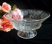 Clear Depression Glass Bowl
