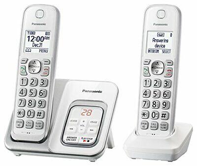 Panasonic DECT 6.0 Expandable Cordless Phone with Answering Machine and Smart Ca comprar usado  Enviando para Brazil