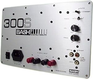 Subwoofer Plate Amplifier Amp Home Theater Sub 300W RMS