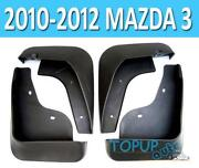 2012 Mazda 3 Splash Guards