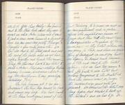 Handwritten Diary
