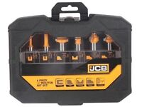 JCB 12.7mm Shank Router Bit, Pack of 6
