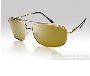 0867097877c EAGLE EYES NAVIGATOR GOLD POLARIZED SUNGLASSES  Model   14100 NEW with TAGS!