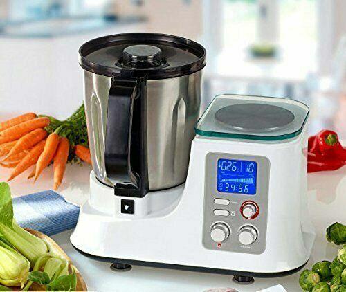 @ All-in-One Multifunktions-Küchenmaschine mit Kochfunktion und Waage ++