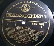 Beatles Please Please Me Gold