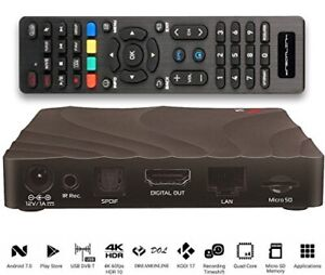 DREAMLINK T2 W AND GLOBAL MEDIAL 4K IPTV WITH DUAL BAND WIFI