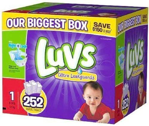 Luvs Diapers Ebay