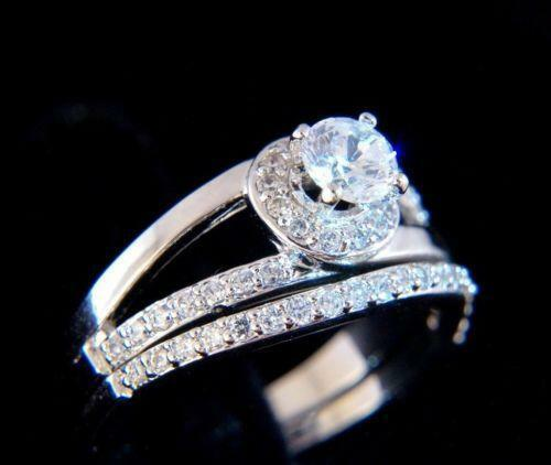 lab created engagement ring ebay