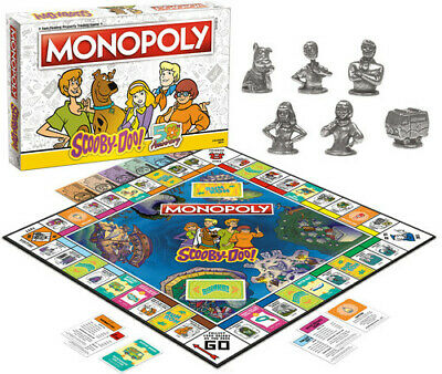MONOPOLY: Scooby-Doo [New ] Board Game