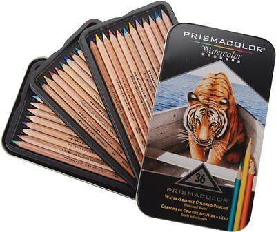 Prismacolor 4066 36 pcs Watercolor Pencil Box