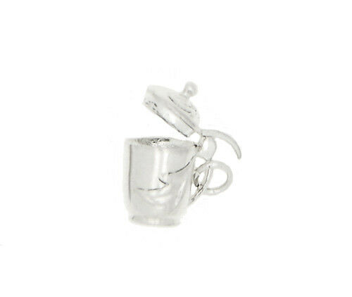 SILVER 3D WATER JUG WITH LID CHARM OR PENDANT