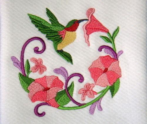 Hummingbird Kitchen Curtains: Hummingbird Towels