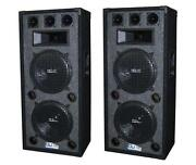 Dual 12 DJ Speakers