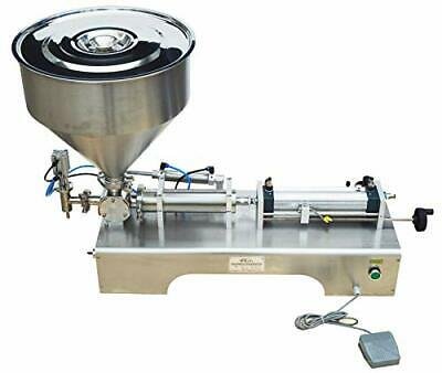 Durable Paste Liquid Filling Machine 100-1000ml W12mm Nozzel Filler For Bottles